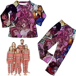 Steven-Adventure Adult Kids Pajamas Family Matching Sleepwear Pjs Clothes Boys Girls Toddler