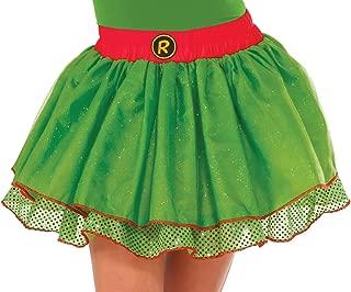 Rubie's Women's TMNT Classic Costume Raphael Tutu, Green, Standard