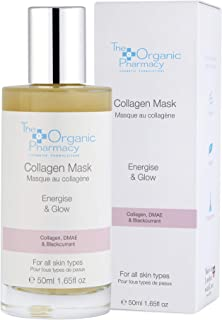 The Organic Pharmacy Collagen Boost Mask, Restores Moisture, Firms and Brightens Skin, Increases Collagen Production, 1.65...