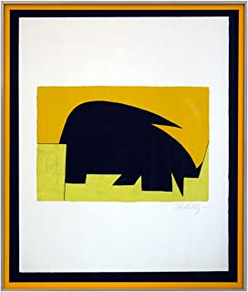 Best vasarely lithograph signed Reviews