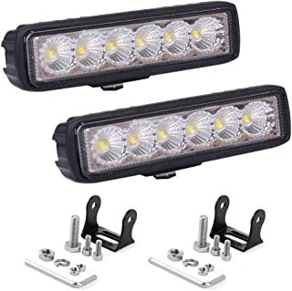 7aa6fdea0d NUEVO SOL LED Light Bar 2 piezas 18W 6 pulgadas de inundación LED Work  Light Pods