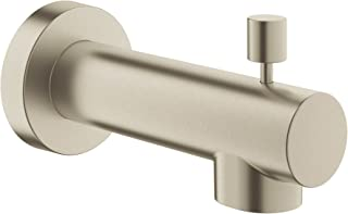 Grohe 13366EN0 Concetto 5 in. Tub Spout in Brushed Nickel,