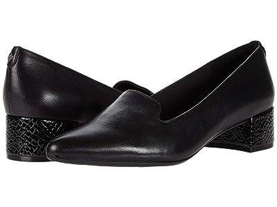 Anne Klein Kimbra (Black Leather) Women