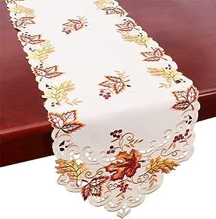 fall table runner patterns