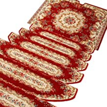HAIPENG Non Slip Stair Treads Carpet Step Rugs Pads Runner Mats Self Adhesive Staircase Ottomans Home, Customized, 4 Sizes...