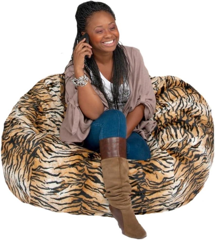 Cozy Las Vegas Mall Sack Bean Bag Chair: Large Discount mail order Foot Filled ? Foam La 4