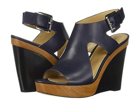 1c15a15da0de Michael Michael Kors Josephine Wedge Platform Sandals In Admiral ...