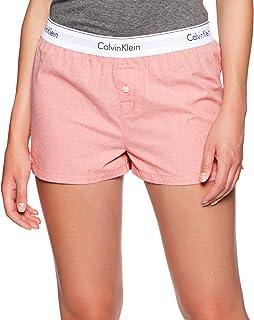 Calvin Klein Shorts For Women, Orange - S