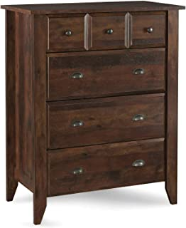 Leighton 4 Drawer Chest, Rustic Cherry Finish
