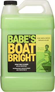 BABE'S BB7001 Boat Bright Spray Wax Cleaner - Gallon