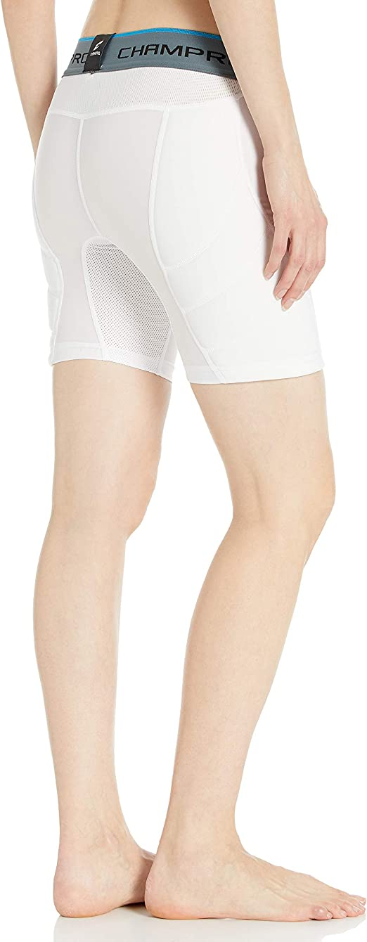 Champro Windmill Women/'s Fastpitch Softball Padded Sliding Short White XL