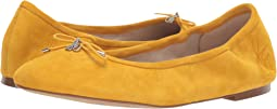 Dijon Yellow Kid Suede Leather