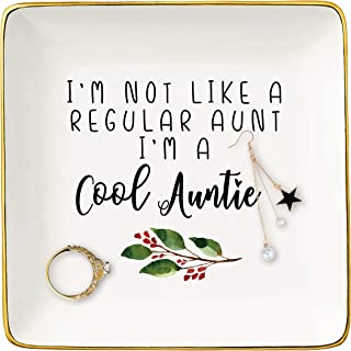 I Am Not Like a Regular Aunt I Am A Cool Auntie – Funny Wedding Anniversary Birthday Mothers Day Christmas Gift for Aunt -...