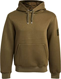 Mackage Men's Hoodie with Rainwear Lined Hood