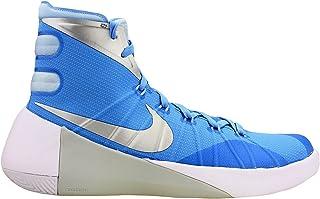 7f1e3bf5279 Nike Mens Hyperdunk 2015 TB Basketball Shoes University Blue Ice Blue White  749645-