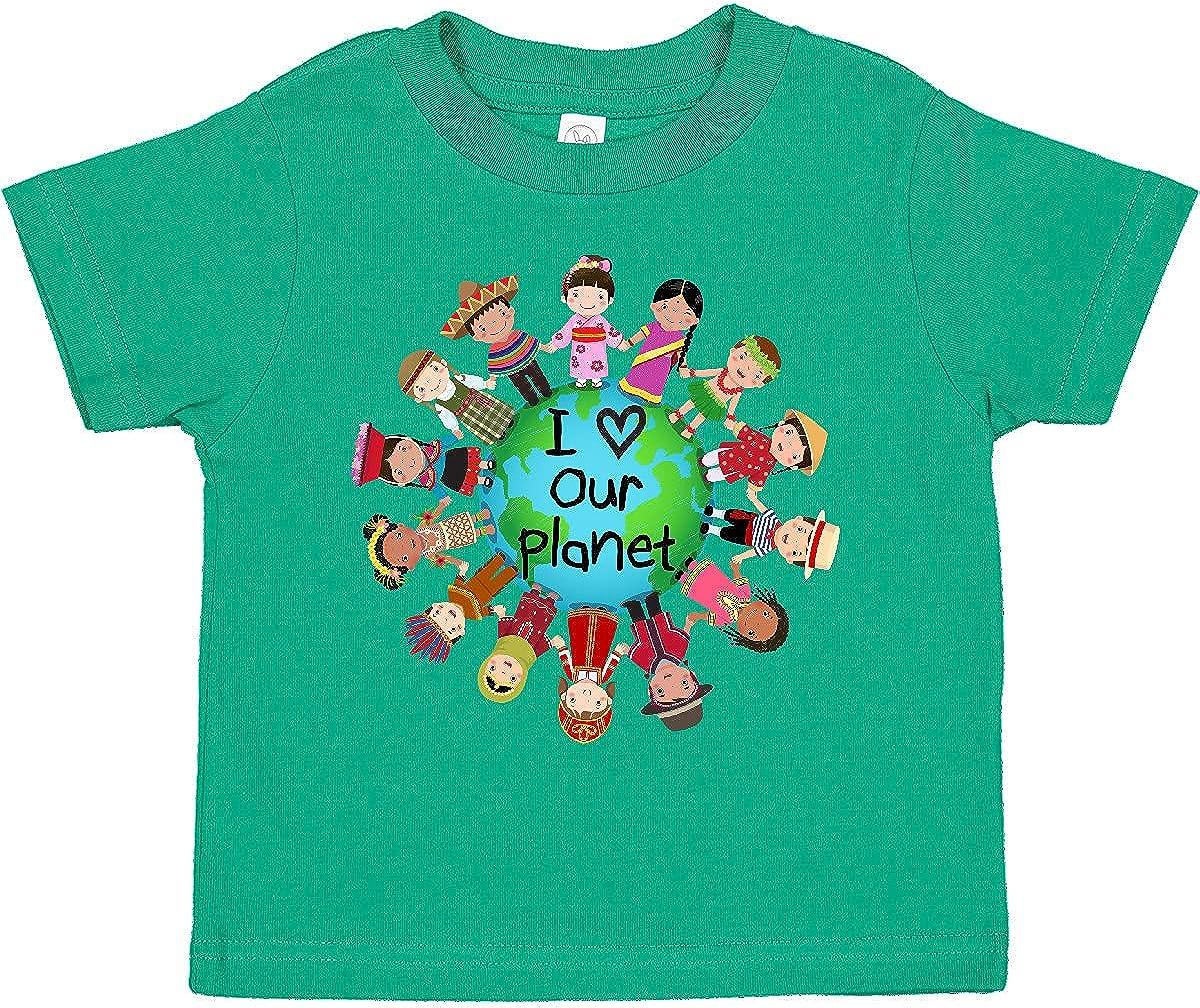 inktastic Earth Day Topics on TV Toddler T-Shirt International Fresno Mall