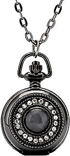 Pocket Quartz Watch Necklace