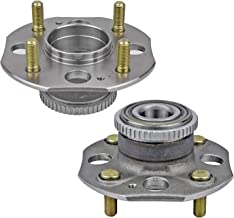 Bodeman - Pair 2 Rear Wheel Hub & Bearing Assembly Driver and Passenger Side for 1994 1995 1996 1997 Honda Accord Sedan Coupe 2.2L ONLY - 4-Lug w/ABS