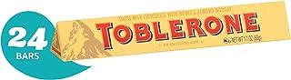 Toblerone Swiss Milk Chocolate bar, 24 1.76oz. Bars