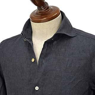 [Finamore【フィナモレ】]シャツ PIERO BALI P2050 20 リネン ブラック