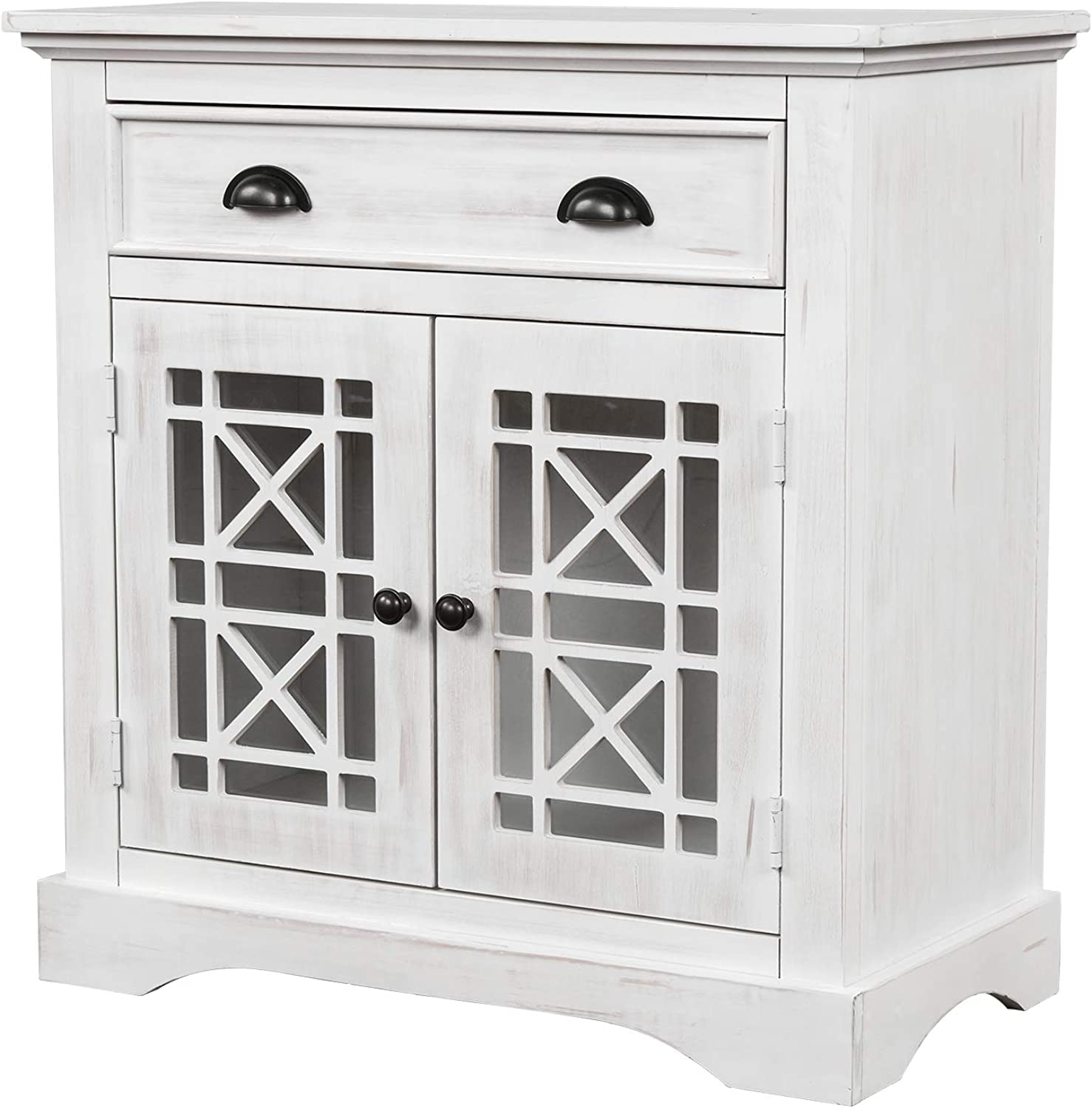 Directly Fashion managed store Retro 8-Drawer Chest Wood Cabinet Drawers Storage Dress