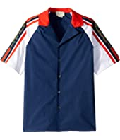 Gucci Kids - Contrast Button-Up (Little Kids/Big Kids)