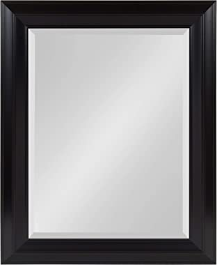 Kate and Laurel Whitley Framed Wall Mirror, 23.5x29.5, Black