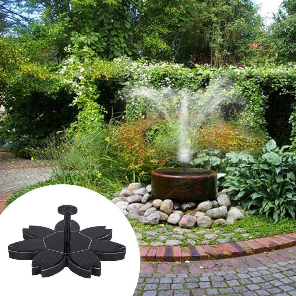 effoo 1 5 W Fuente Solar Fuente para baño de Aves Fuente Flotante Bomba, Estanque Planta con jardín Piscina: Amazon.es: Productos para mascotas