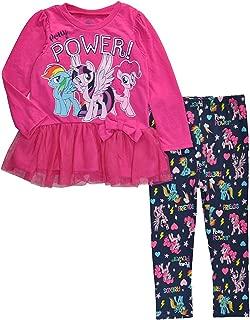 My Little Pony Little Girls Toddler Character Print Tunic & Printed Legging Set