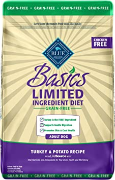 Blue Buffalo Basics Limited Ingredient Diet, Grain Free Natural Adult Dry Dog Food | Chewy
