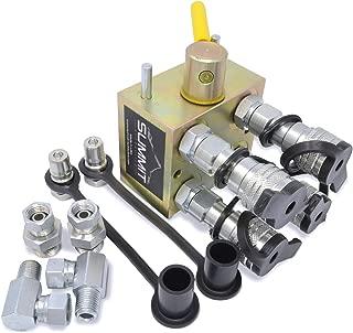 Manual Hydraulic Multiplier Diverter Valve Kit for Kubota Compact Tractors