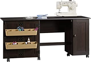 black sewing table
