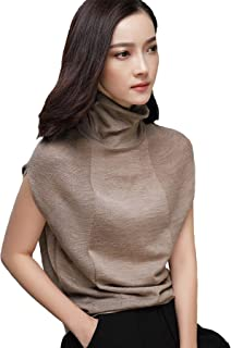 GABERLY Womens Knits Tees Dolman Sleeve Turtleneck Thin Sweaters Casual Shirts Tops