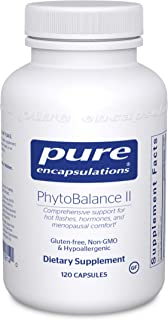 Pure Encapsulations - PhytoBalance II - Supports Healthy Estrogen and Progesterone Activity & Reduces Hot Flashes - 120 Ca...