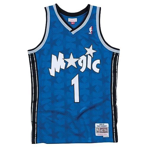467b369bb Mitchell   Ness Men s Orlando Magic Tracy McGrady Swingman Jersey