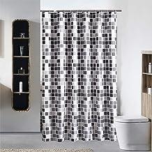 Yishu Rideau de douche de première qualité, résistant à l'eau, tissu..