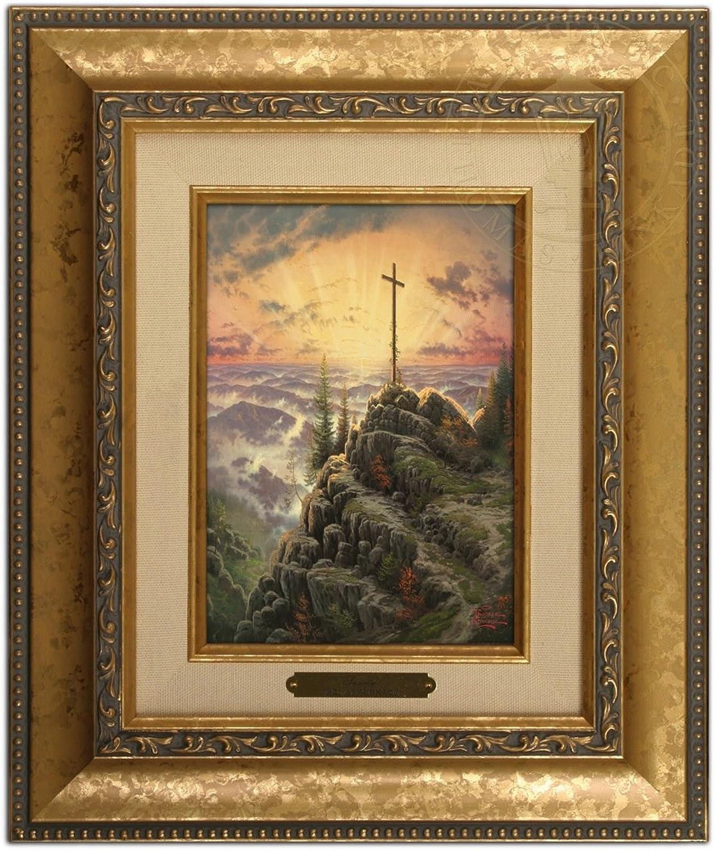 Thomas Kinkade Sunrise Brushwork (gold Frame)