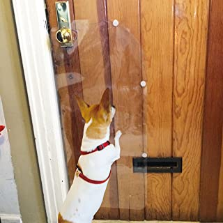 Delux Door Guard PET CLAW Innovation - Protect All Your Doors From Dog Scratches By CTD Store