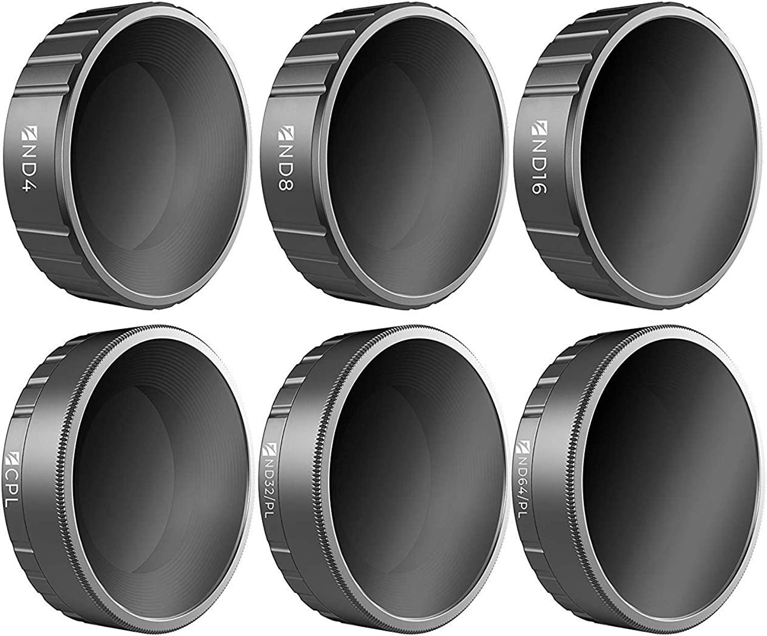Freewell Essential E-Series 6-Pack Budget Filter Set for DJI Osmo Action Camera