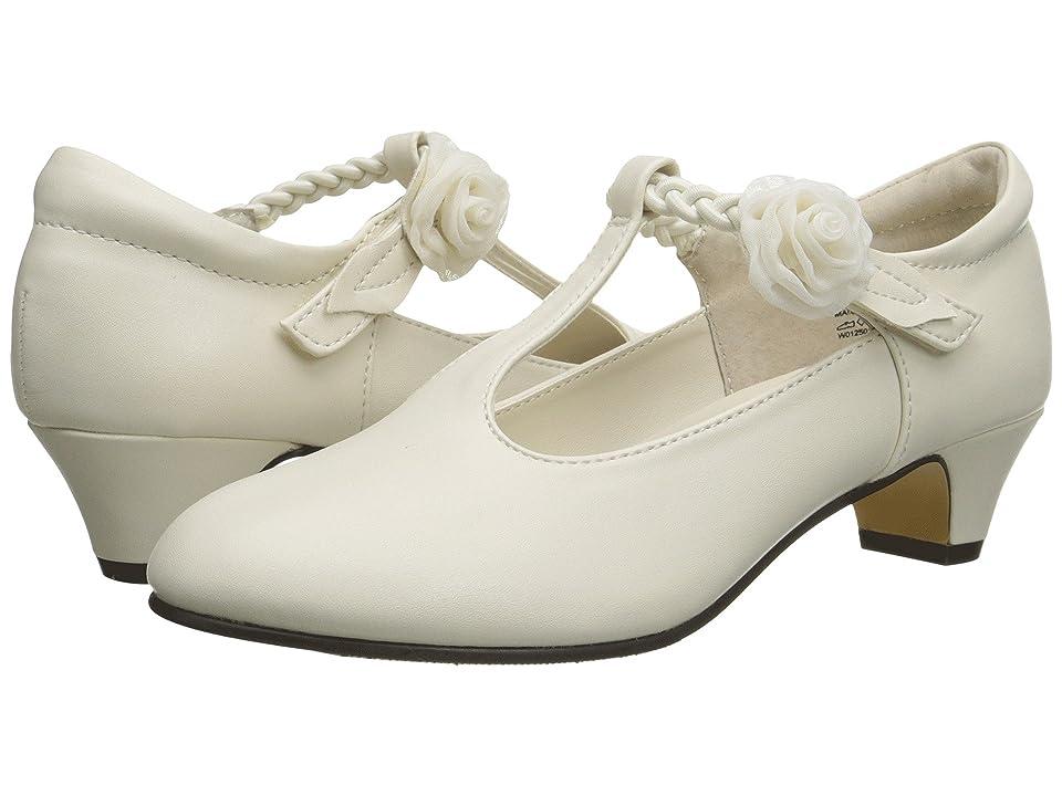 Jumping Jacks Kids Balleto Kate (Little Kid/Big Kid) (Bone Smooth/Bone) Girls Shoes