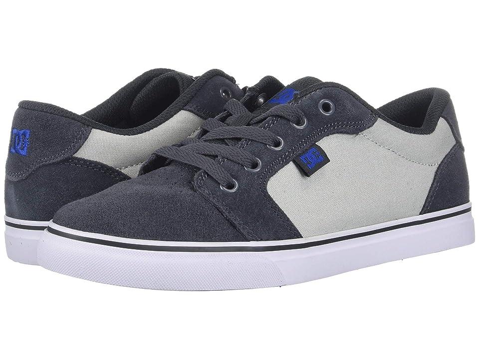 DC Kids Anvil (Little Kid/Big Kid) (Grey/Blue) Boys Shoes