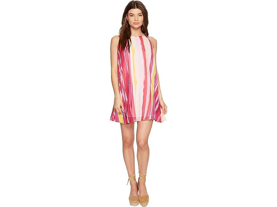 BB Dakota Summerlyn Pleated Dress (Glow) Women