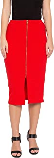 Globus Red Pencil Skirt