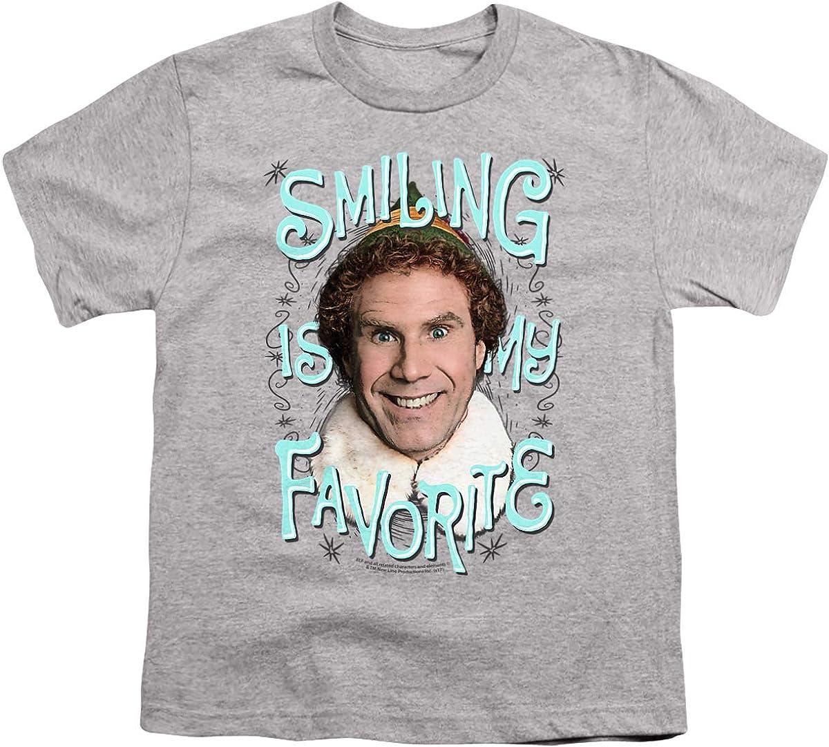 Elf Smiling Unisex Youth T Shirt