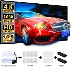 Best concealed projector screen Reviews