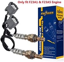 2pcs Upstream & Downstream Oxygen Sensor 234-4620 234-4621 O2 Sensor 1 and Sensor 2 Replacement for Honda Accord 2.3L F23A1 & F23A5 Engine 1998 1999 2000 2001 2002