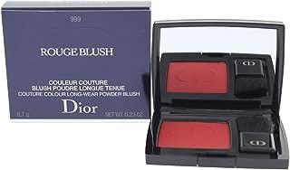 Christian Dior Rouge Blush Couture Colour Long Wear Powder Blush - # 999 6.7g/0.23oz