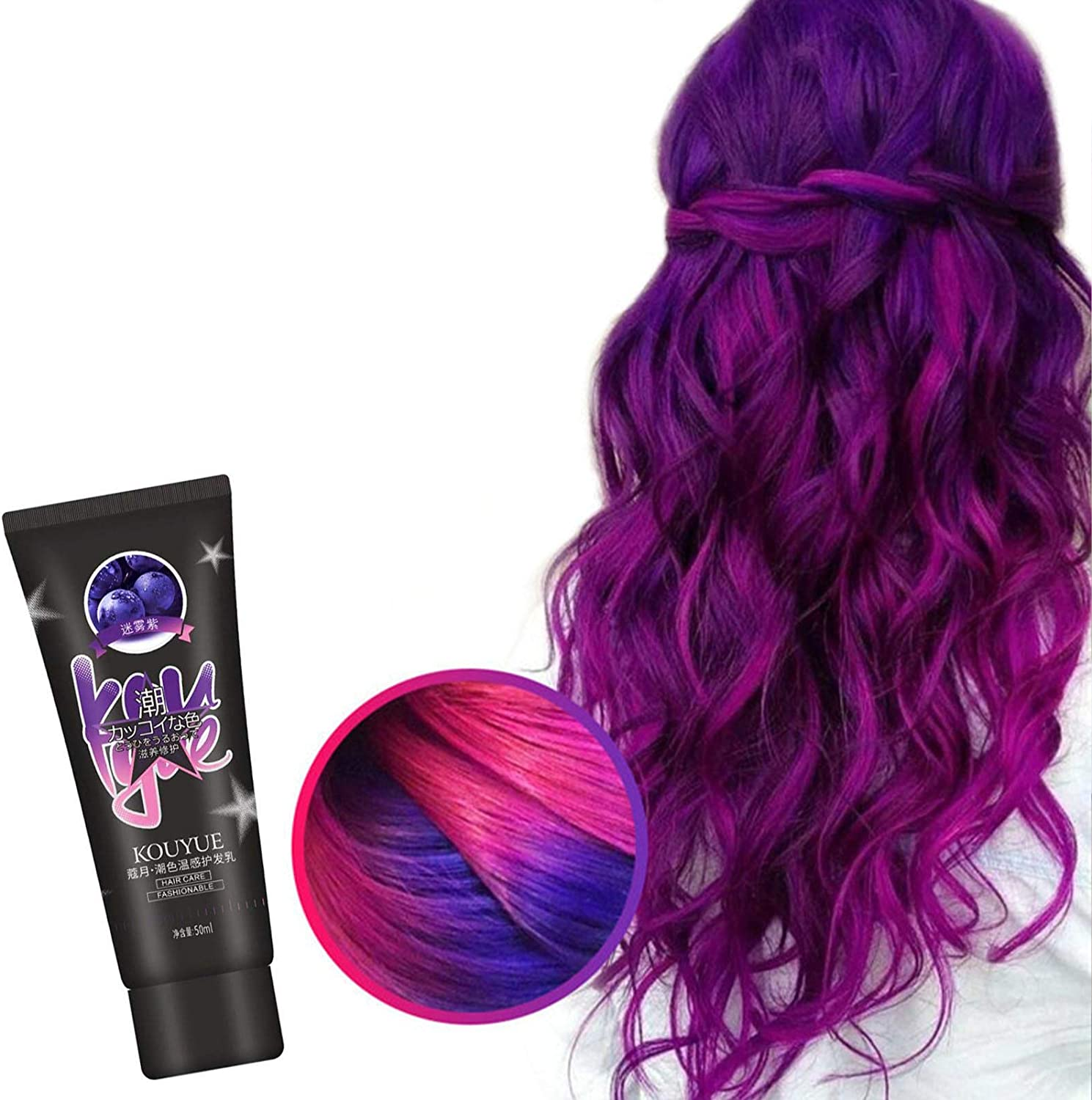 zapture Recommended Thermochromic Color Changing Wonder Cream Hair Dyes Translated Dye