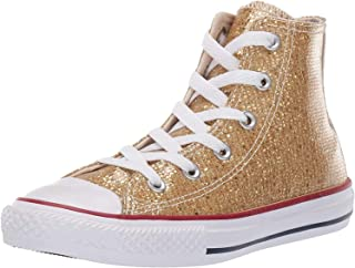 Converse Chuck Taylor All Star Hi Sport Sparkle Gold Synthetic 1½ UK Child