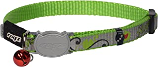 ROGZ Catz ReflectoCat Collar, Lime